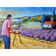 I'm painting the Provence