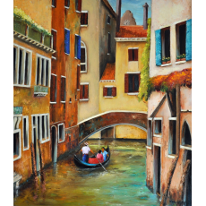 A walk in Venice (SOLD)