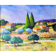 The provence  18x22